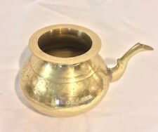 Solid Brass Vintage Pot with Spout - Made in India