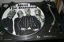 "12""  VINYL RECORD SLIPMAT  THE DAMNED NEAT NEAT NEAT  PUNK    LP"