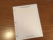 Blank Telegraph Album Pages with Grid Pack of 10 Addition to Telegraph Set