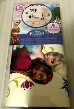 Disney Frozen 36 Peel and Stick Wall Decals, Removable and Re-positionable, New