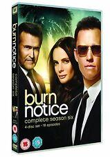 Burn Notice - Komplette Season Staffel 6 4er [DVD] NEU mit Jeffrey Donovan