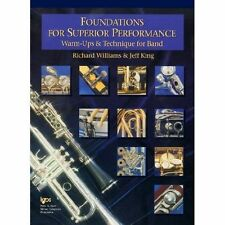 Foundations for Superior Performance--oboe: Warm-ups & Technique for Band