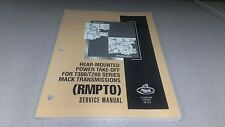 Mack Rear Mounted Power Take Off for T300 T200 RMPTO Service Manual FREE SH