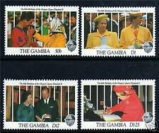 Gambia 1991 Queens 65th Birthday SG 1165/8 MNH