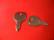 Ride on mower universal ignition starter keys x 2 will fit 95% of mowers