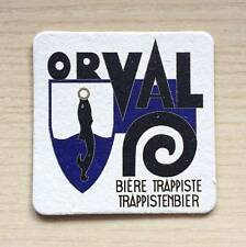 SOTTOBICCHIERE - BIRRA ORVAL -TRAPPISTENBIER -  THE UNDER GLASS OF BEER - AS NEW