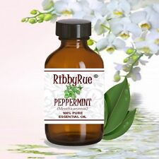RibbyRue 30ml Peppermint 100% Pure Essential Oil