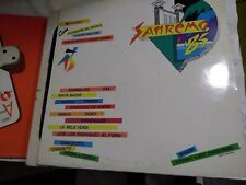 "LP 12""  SANREMO 85 WHAM LAST CHRISTMAS RAMAZZOTTI OXA BANCO ROCKEFELLER BAGLIONI"