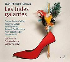 Les Indes galantes - Orfeo Orchestra, Gyorgy Vashegyi, Purcell Choir,  (NEW 2CD)