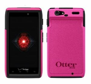 Otterbox Commuter Series Case - To Suit Motorola RAZR - Pink/Black