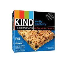 Kind Bar Granola Bars Vanilla Blueberry, 5 Bars per Box, Pack of 8