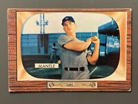 1955 Bowman #202 Mickey Mantle VG+/VGEX New York Yankees HOF