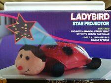Ladybird Star Projector Kids Starry Night Light night light Lottie  the ladybird