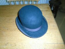 VINTAGE BOWLER HAT - SIZE 6 AND 3/4