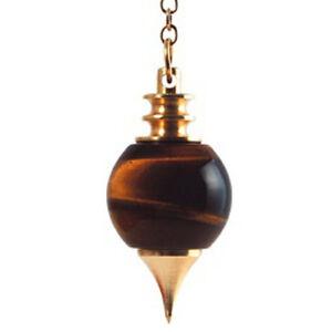 Pendule - Sphéroton. Oeil de Tigre, 20 g