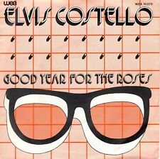 7inch ELVIS COSTELLOgood year for the rosesHOLLAND 1981 EX  (S1124)