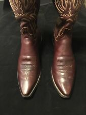 Lucchese 1883 Mad Dog Goat Boots #N1522 Chocolate Brown Men 10
