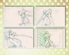 Sailor Moon Stars Anime Genga Set for Cel Animation Art Layout Usagi Tsukino