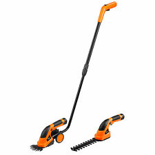VonHaus 2-in-1 Cordless Grass Shears / Hedge Trimmer wheeled Extension Handle