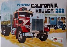AMT866 Peterbilt California Hauler 359 1/25 Scale Plastic Model Kit