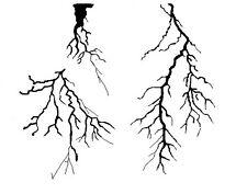 Haut détail airbrush stencil lightning gratuit uk envoi