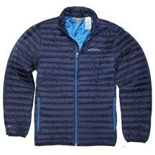 Eddie Bauer NWT Size XXL Men's Microlight Premium Down Traveler Jacket Navy Blue