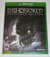 Dishonored: Definitive Edition (Microsoft Xbox One, 2015) NEW