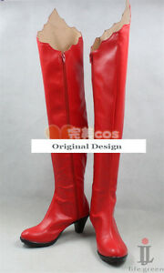 Shugo Chara! My Guardian Characters Tsukiyomi Utau Boot Shoes Cosplay Boots