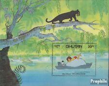 bhoutan Bloc 92 (complète edition) neuf avec gomme originale 1982 walt disney Ze