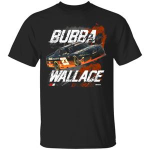 Men's #23 Bubba Wallace Root Insurance1 Nascar Racing 2021 Black T-Shirt S-4XL