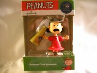 Hallmark Peanuts Christmas Ornament Lucy With Megaphone 50 Years, 2015,  NIB
