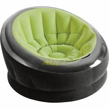 Intex Portable Inflatable Blow Up Air Chair Couch Sofa Lounger Seat- Lime Green