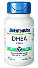 Life Extension, DHEA (dehydroepiandrosterone) 25mg - 100 Tablets
