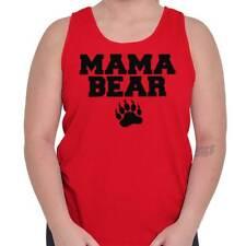 Mama Bear Cool Mom Life Best Mothers Day Womens Tank Top Sleeveless Shirts