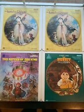CED SelectaVision VideoDisc Tolkien Lord of the Rings, Hobbit, Return of the Kin