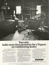 1973 Tappan Air Conditioning PRINT AD Your Attic Holds More Than Memories