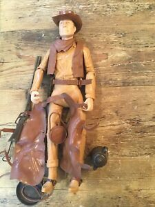 VINTAGE MARX TOYS JOHNNY WEST ACTION FIGURE w/ ACCESSORIES