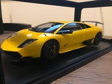 Lamborghini Murcielago LP670-4 SV, Giallo Orion / Yellow in 1:18 Scale by Auto