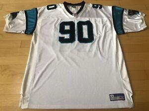 100% Authentic #90 Julius Peppers Carolina Panthers Jersey SZ 58