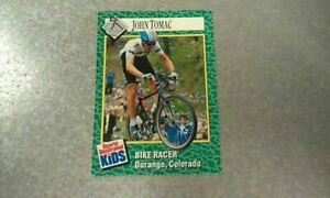 John Tomac Sports Illustrated for Kids SI For Kids Cyclist Cycling #174 WOW