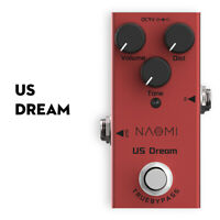 NAOMI US Dream Electric Guitar Effect Pedal Mini Single Distortion Pedal New