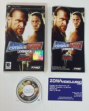 WW Smackdown vs Raw 2009, Sony Psp, Pal-Esp.