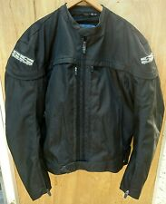 Speed and Strength Men's Black Motorcycle Jacket Size Medium (Has All Pads)