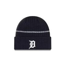 New Era MLB Detroit Tigers Navy Cuff Sport Knit Beanie Fleece Lined Winter Hat