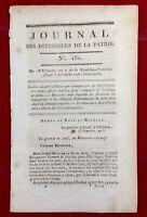 Huningue 1796 Abatucci Cassagne Ferino Réfugiés de Corse Révolution  Autriche