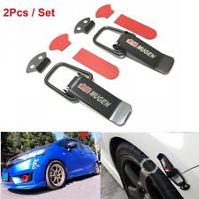 2Pcs Mugen Quick Release Fasteners For Car Bumpers Trunk Fastenes Hatch Lids JDM