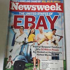 Newsweek Magazine United States Of Ebay June 17, 2002 061917nonrh