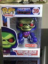 Masters of The Universe Skeletor Terror Claws Metallic Pop Vinyl #39