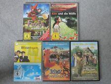 5x DVD Kinderfilme Asterix, Räuber Hotzenplotz, Wissen macht AH! Fuxia.....
