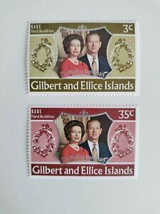 1972 Gilbert and Ellice Island stamps,MNH,OG.